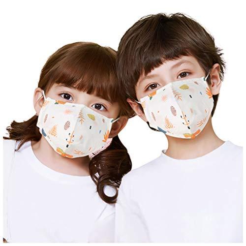 YYMQ médico Reutilizable de Polvo con Extra filtros de carbón Activado for la protección contra el Funcionamiento de Polen de Formación de la alergia de la carpintería de siega Aire(para niños)