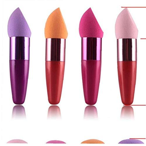 AYRSJCL 1pc Couleur aléatoire cosmétiques Maquillage Brosses Fondation Correcteur éponge Lollipop Make Up Brush Pro Beauté Maquillage