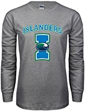 CollegeFanGear Texas A&M Corpus Christi Grey Long Sleeve Tshirt 'Islanders w/I'