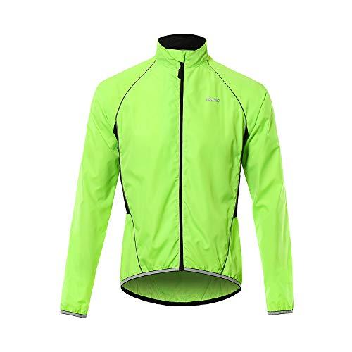 Sunbike Herren Windproof Cycling Windbreaker Jacket