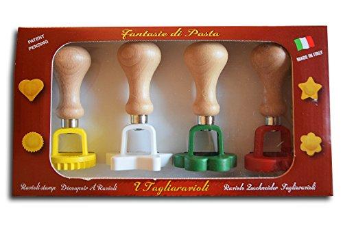 ELETTRO CENTER Art.280 Taglia Ravioli, legno, Multicolore