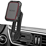 Magnetic Air Vent Car Phone Mount, Long Arm Air Vent Phone Holder with 360 Rotation Design, Built-in 6 Strong Magnets, Universal Car Magnetic Vent Holder for All Cell Phone & Mini Tablet