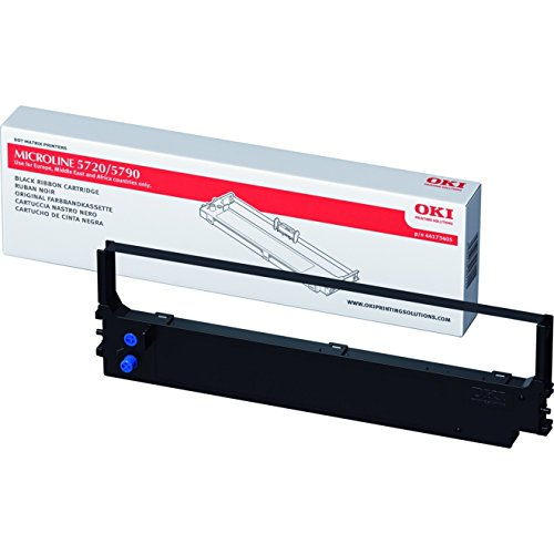 Cartucho de Cinta de Tinta para OKI ML5720 / ML5790 Impresoras Matriciales - Negro