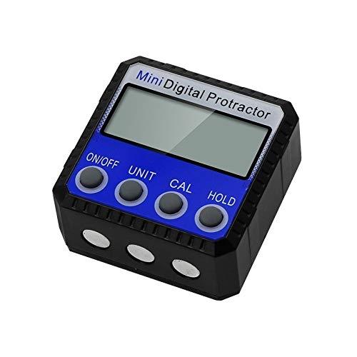 Multifunción Multi-ángulo del tirón magnético Fuerte adsorción ángulo Regla Digital Display inclinómetro