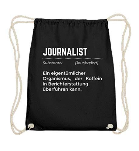 Ideaal voor journalisten en reporters – katoenen gymtas.