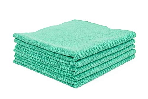 The Rag Company - The Pearl - Professional Microfiber Detailing Towel for Ceramic Coating Leveling...