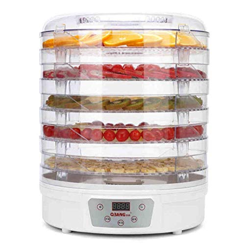 Best Review Of Dehydrator Dehydrator, Food Dryer – Food Grade ABS, AS, 5 Layers Large Capacity, Transparent Shelf, Uniform Heat, Multi-purpose Machine, Suitable For Home, Kitchen