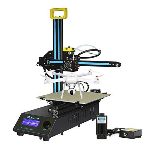 Imprimante 3D 3D Printer De Bureau Imprimantes 3D Monture en Métal D'assemblage DIY Kit ABS PLA Filament 1.75Mm