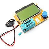 Lorenlli Ajuste LCR-T4 LCD Digital Transistor Tester Medidor Retroiluminación Diodo Triod...