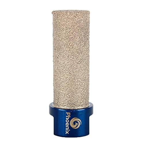 Raizi 3/4 Inch Diamond Finger Milling Bits For Enlarging Shaping Holes on Porcelain Tile Ceramic Marble Granite Milling Tools 1 Pc