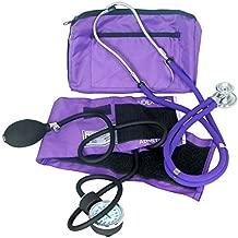 Dixie Ems Purple Blood Pressure and Sprague Stethoscope Kit