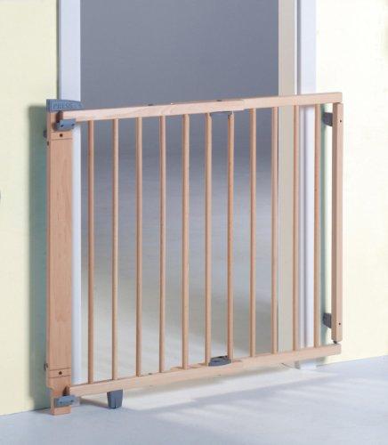 Geuther - Schwenk-Türschutzgitter 2732, für Kinder, Hunde und Katzen, Befestigung in der Tür oder...