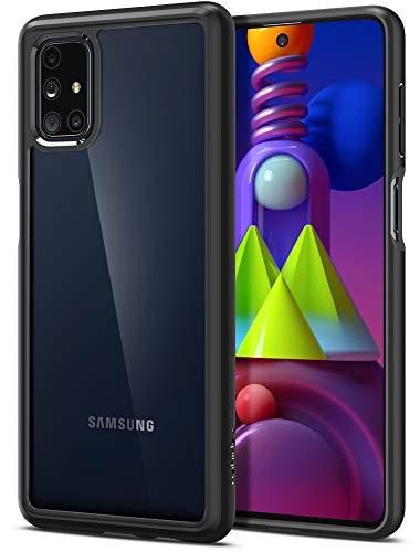 Spigen Ultra Hybrid Hülle Kompatibel mit Samsung Galaxy M51 -Schwarz