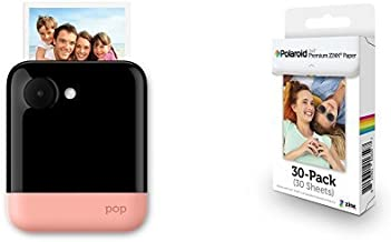 Polaroid POP 3x4 Instant Print Digital Camera (Pink) with Premium Zink Photo Paper