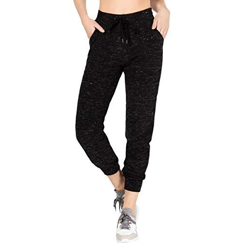 Ideology Womens Workout Fitness Sweatpants Black XXL