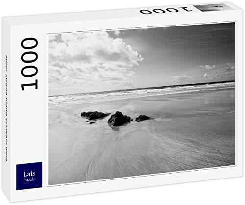 Lais Puzzle Sea Beach Irlanda Nero Bianco 1000 Pezzi