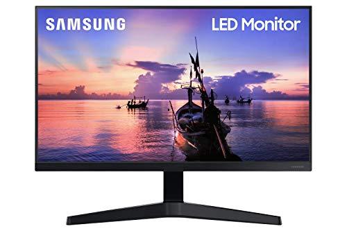 """Samsung Monitor F27T35 da 27"""" (68.6 cm), Full HD, 75Hz, Freesync, Eye Saver Mode, HDMI, Dark Blue Grey"""
