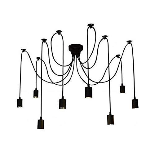 Plafond Lamp Licht Shades Plafond Lampen Voor Thuis Decoratie Industriële Hanglamp Licht Fittings Voor Plafonds Cluster Plafond Verlichting 8 arms