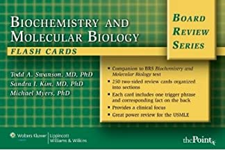 [(BRS Biochemistry and Molecular Biology Flash Cards)] [Author: Todd A. Swanson] published on (January, 2007)