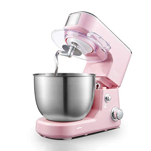 WGYDREAM Batidora Amasadora Robot de Cocina Máquina mezcladora de Soporte 1000W Cocina eléctrica Dough Blender con Acero Inoxidable Mezcla DE Mezcla DE Meza DE MEJA Ganador DE Pasta (Color : Pink)