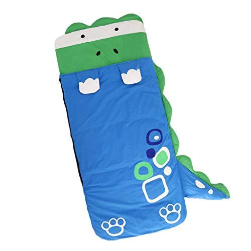 Kinder Schlafsack Deckenschlafsäcke mit Kopfteil - Dinosaurier