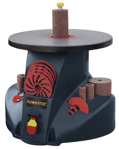 POWERTEC OS1400 2.6 Amp Benchtop Oscillating Spindle Sander