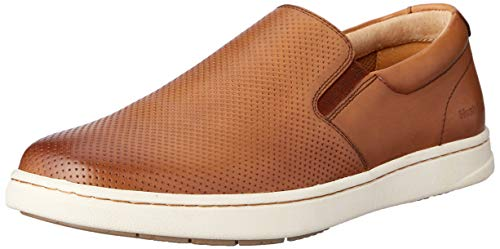 Hush Puppies Men's TONY Casual Shoes, TAN BURNISH, 7.5 AU