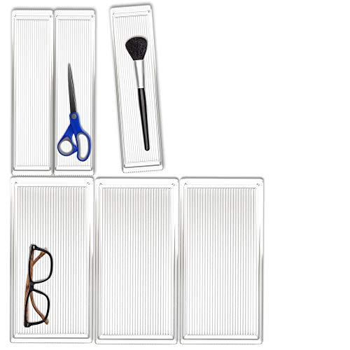 Hausfelder ORDNUNGSLIEBE Schubladen Organizer (6-teiliges Set) Ordnungssystem zur Aufbewahrung für...