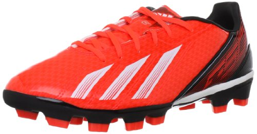 adidas Performance F10 TRX HG, Botas de fútbol Hombre, Rojo-Rot (Infrared/Running White FTW/Black 1), 46