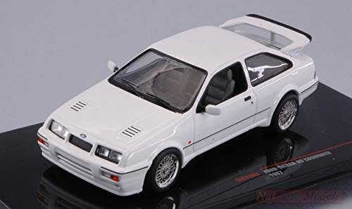 Ixo Model Compatible con Ford Sierra RS Cosworth 1987 White 1:43 DIECAST CLC310N