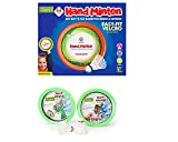 The compact soft & safe design allows for indoor & outdoor use Enhances eye and hand co-ordination, concentration skills Develops motor skill and movement A new and easy way to play with Shuttlecock, play all new Handminton indoor or outdoor. Best wa...