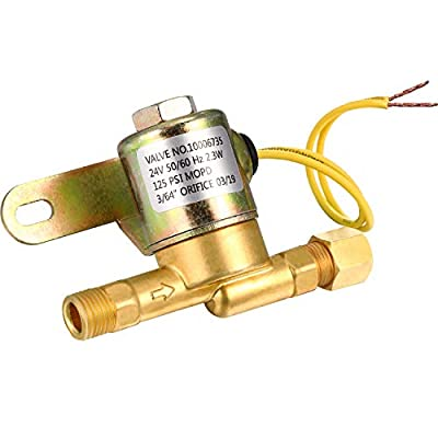 A2012-S150 Solenoid Valve Humidifier Replacement Valve Compatible with Aprilaire 110, 112, 220, 224, 350, 360, 440 Replace for B2035-S2 B2035-S5 B2035-S54, 24 V, 60 Hz AC, 125 PSI