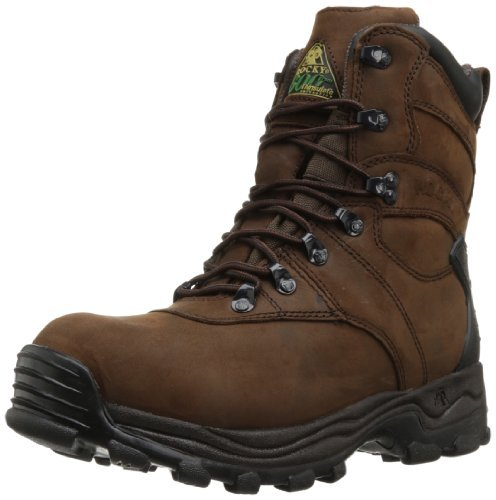 Rocky mens Fq0007480 hunting shoes, Brown, 8.5 US