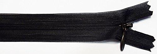 Reißverschluß nahtverdeckt nahtfein 60 cm schwarz