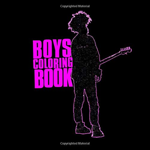 Boys Coloring Book: The Cure Album Covers 1979 - 2019 (Unofficial)