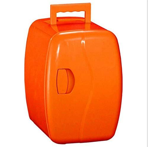 DFJU Refrigerador de Coche portátil de 4L Regalo pequeño Voltaje del refrigerador (Coche de 12V-24V) (hogar 220V) Peso ABS 3 kg Potencia 65 (W) tamaño 200x270x280