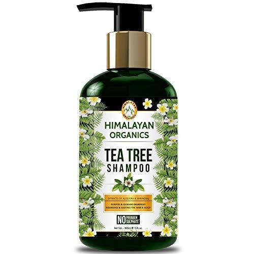 Himalayan Organics Tea Tree Shampoo - Anti Dandruff - No Parabens & No Sulphate - 300ml…