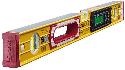 STABILA Elektronik-Wasserwaage TECH 196 electronic IP 65, 61 cm, mit 2 Digital-Displays und Wasserwaagen-Tasche