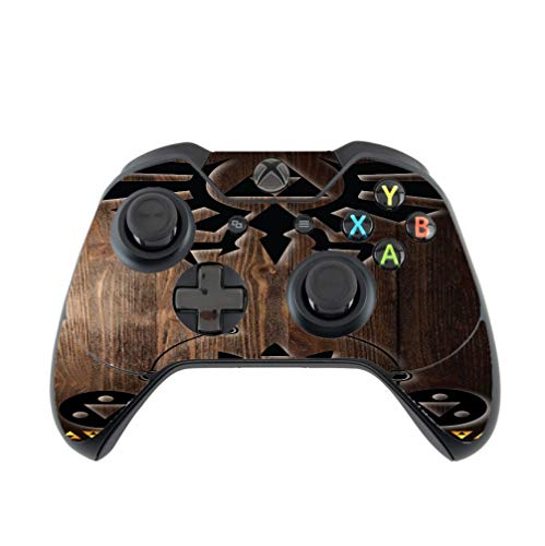 Zelda Triforce Vinyl Decal Sticker Skin by EandM for Xbox One Controller