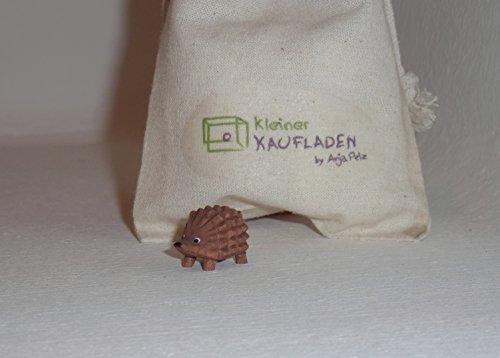 Lotte Sievers-Hahn Igel klein mit Baumwollbeutel Krippenfigur