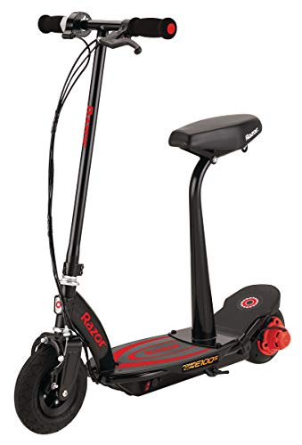 Razor Power Core E100S Seated Electric Scooter  Black/Red  FFP