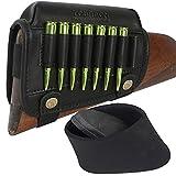 TOURBON Rifle Shell Holder Cheek Raiser Buttstock Recoil Pad