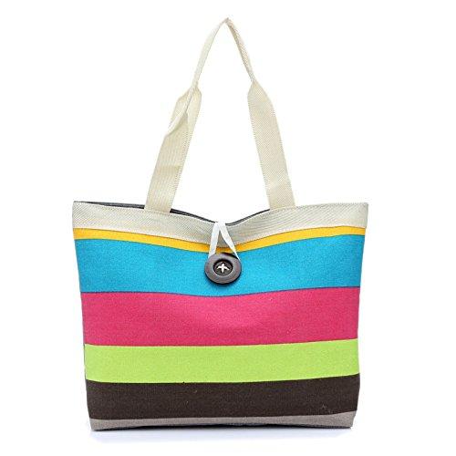 TAMALLU Women Simple Shoulder Bag Ladies Strap Zipper Travel Party Wedding Handbag(Hot Pink)