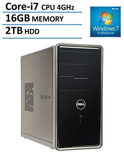 Dell Inspiron 3000 Series i3847 Flagship High Performance Desktop PC