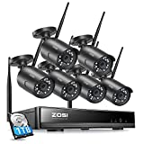 Best Wireless Security Cameras - ZOSI 1080P Wireless Home Security Camera System, H.265+ Review