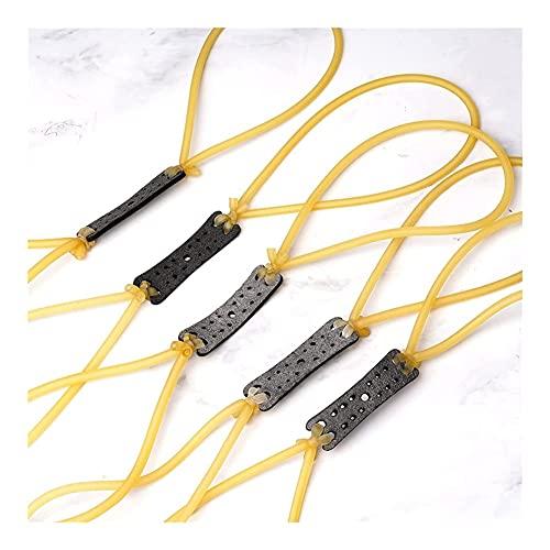 XBYN Slingshot Reemplazo Sets Sets de Goma elástica Bandas Pesadas Slingshot Se Adapta a la mayoría de los diseños tubulares para la Caza de catapults de Tiro al Aire Libre (Color : 5pcs)