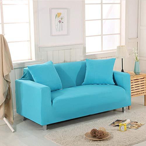 HXTSWGS Funda de sofá de diseño Creativo,Funda de sofá de Sala de Estar 1 2 3 4 Funda de Asiento, Funda de protección de sofá de Tela elástica, Funda de Asiento de sofá-Color18_90-140cm