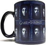 N\A Tazza/Tazza Che Cambia Colore sensibile al Calore con Molte Facce - in Ceramica Ispirata a Game of Thrones di Gotmugs
