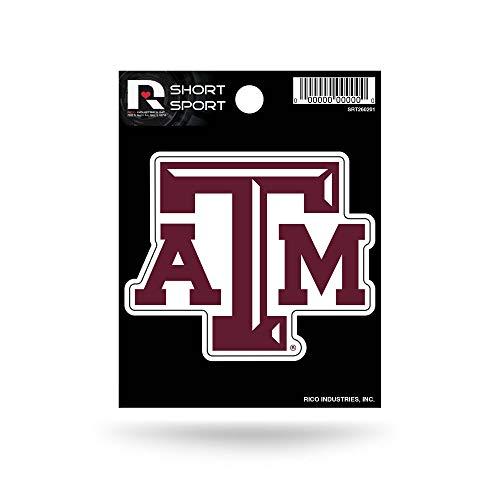 NCAA Texas A&M Aggies Die Cut Team Logo Short Sport Sticker