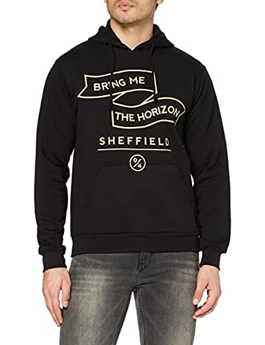 Bring Me The Horizon Herren Banner Sweatshirt, Schwarz, XL